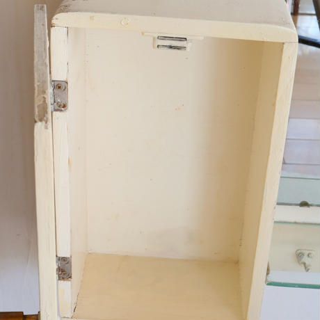 60s wallmount bathroom cabinet