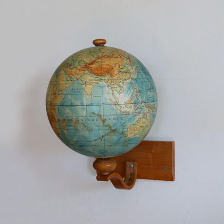 Wall Mount Vintage Globe