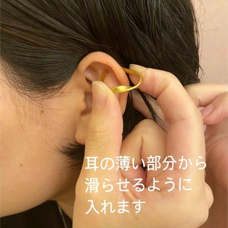 satela 風 イヤーカフ (シルバー) 両耳販売