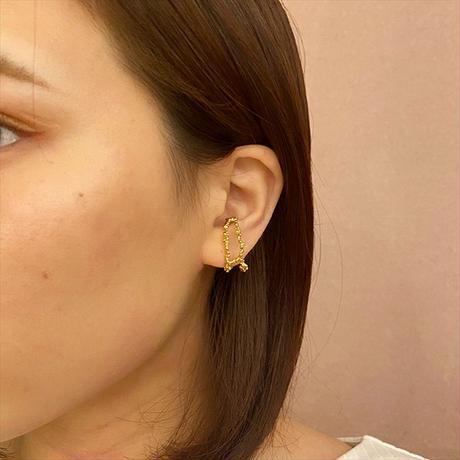satela 増殖 イヤーカフ 大 (ゴールド) 両耳販売