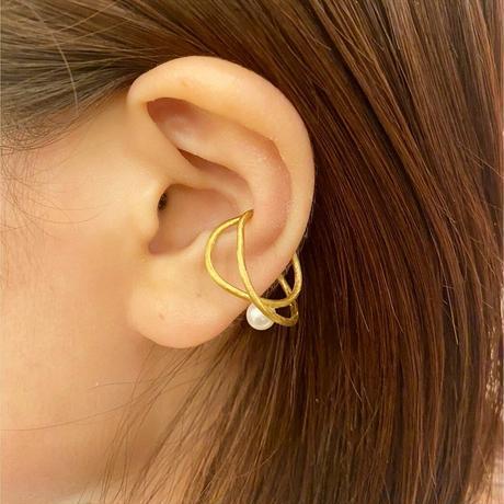 satela ツル イヤーカフ (ゴールド) 片耳販売