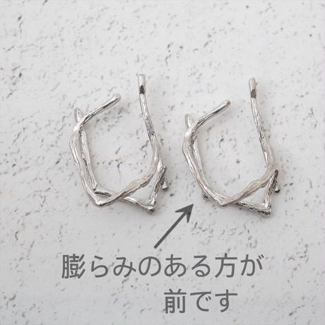 satela 小枝 イヤーカフ 大 (シルバー) 両耳販売