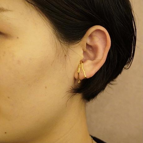 satela 小枝 イヤーカフ 大 (ゴールド) 両耳販売