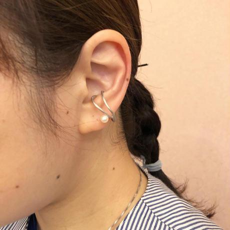 satela ツル イヤーカフ (シルバー) 片耳販売