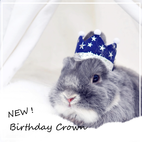 Birthday ★ Crown ブルー