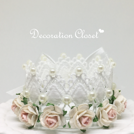 Flower Tiara【White】