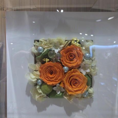 木製フレームアレンジ(アクリルケース入り)