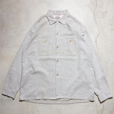 50's PENNEY'S TOWN CRAFT Open Collar L/S Shirts ペニーズ