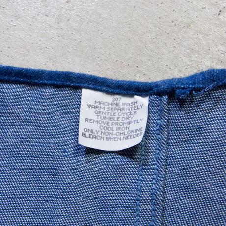 90's GEOFFREY BEENE ノーカラーフランネルシャツ アメリカ製 ミントコンディション