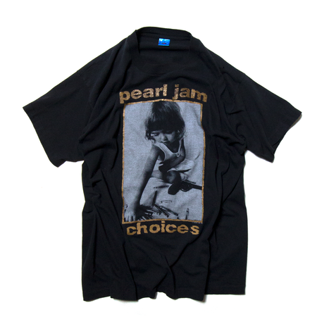"""'92 Pearl Jam """"Choices"""" / SS T-Shirts"""