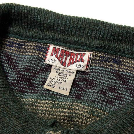 Matrix / Wool Pullover
