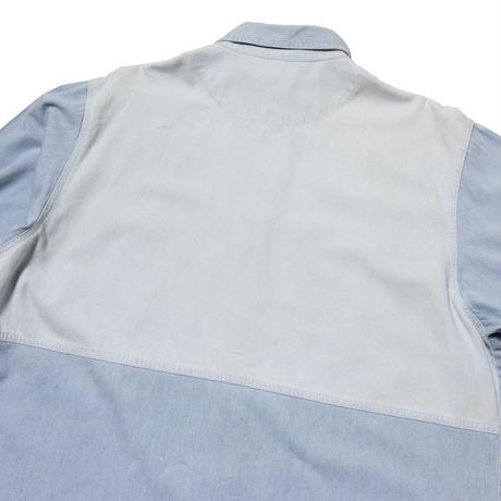 Faded Glory / Cotton Denim Switching Shirts