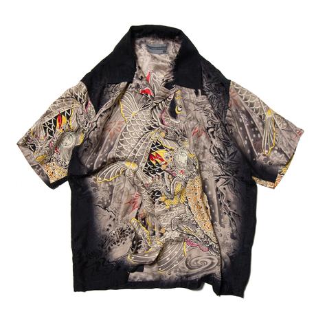 "Back Street Crawler / Silk ""和柄"" Shirts"