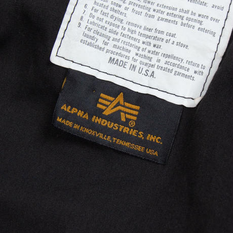 Alpha Black M-65 Field Jacket