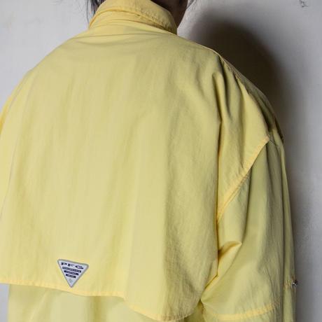 Columbia PFG L/S Shirts イエロー L