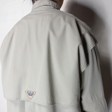 Columbia PFG L/S Shirts カーキ L