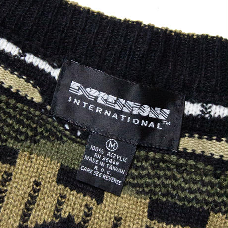 Expression International / Acrylic Cardigan