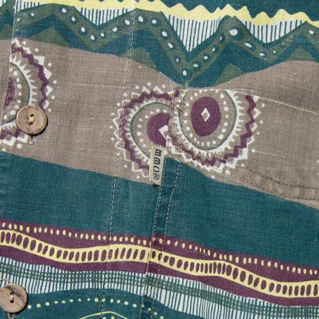 BBC / Euro Vintage  Atomic Patterned Aloha Shirts