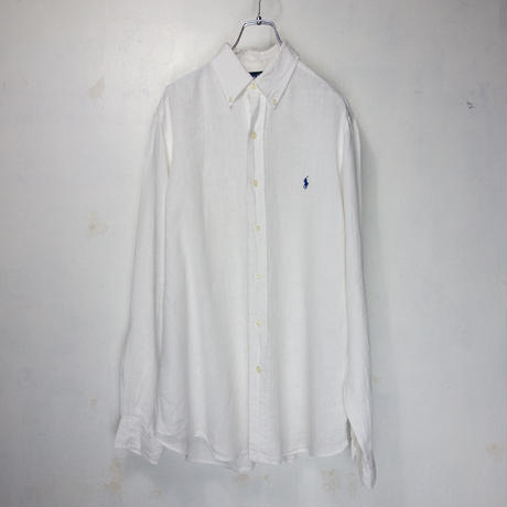 Polo by Ralph Lauren B/D Linen Shirts M
