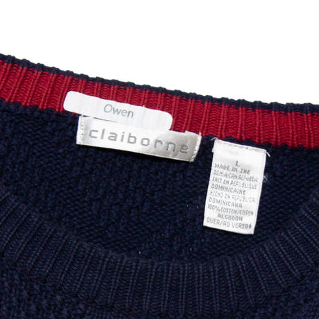 ClaiBorne /  Cotton Knit Sweater