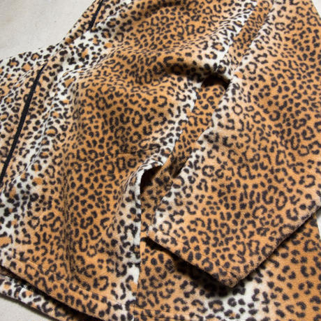 "US製 ""San Francisco"" Embroidered Leopard Fleece Jacket GX1000 サンフランシスコ"