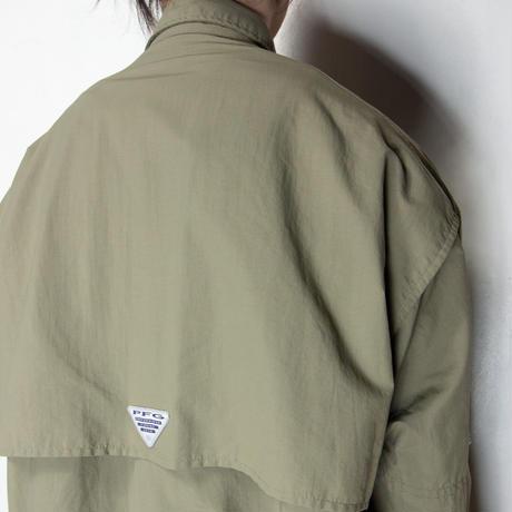Columbia PFG L/S Shirts オリーブ XL