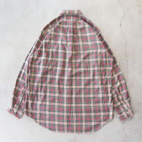 90's Ralph Lauren L/S Tartan Check Shirts ラルフローレン 極上 M