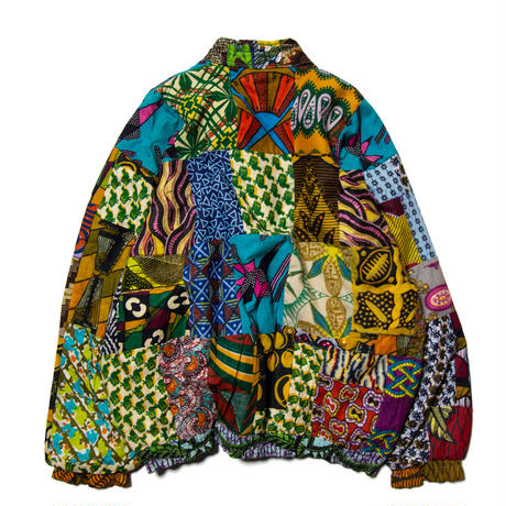 Unknown / Handmade Native Patterned Patchwork Reversible Jacket