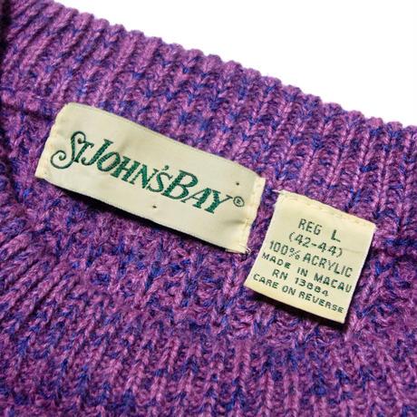 ST. John's Bay / Acrylic Sweater