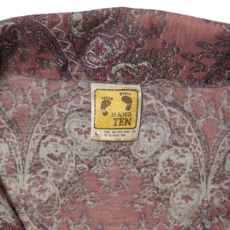 70's Hang Ten / Paisley Patterned LS Shirts