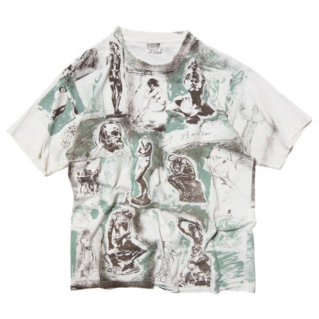 80-90's August Rodin / All Over Printed SS T-shirts