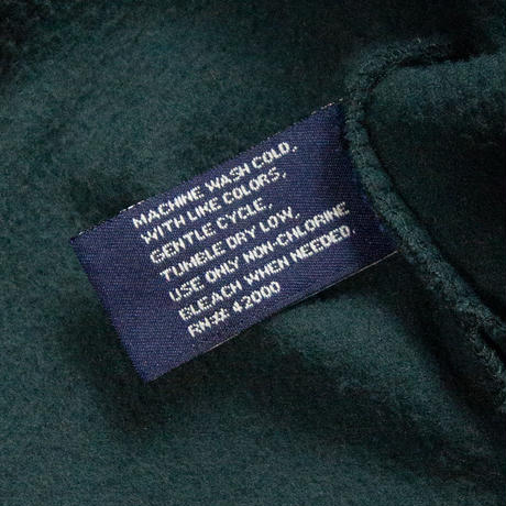 Basic Editions / V-neck Fleece Pullover