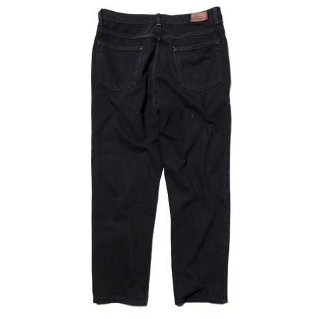 L.L.Bean / Tapered Black Denim Pants