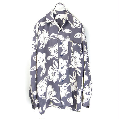 EQUIPMENT / Open Neck Rayon Shirts