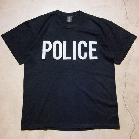 80's Vintage POLICE S/S T-shirts ポリス 警察