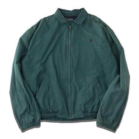 90's POLO by Ralph Lauren Drizzler Jacket M Forestgreen
