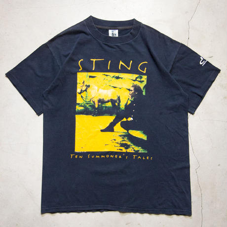 "'93 Sting ""TEN SUMMONER'S TALES WORLD TOUR"" S/S T-shirts スティング"