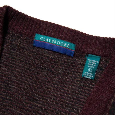 Clay Brooke / Acrylic Cardigan