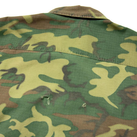 US Army / Jungle Fatigue Green Leaf Jacket