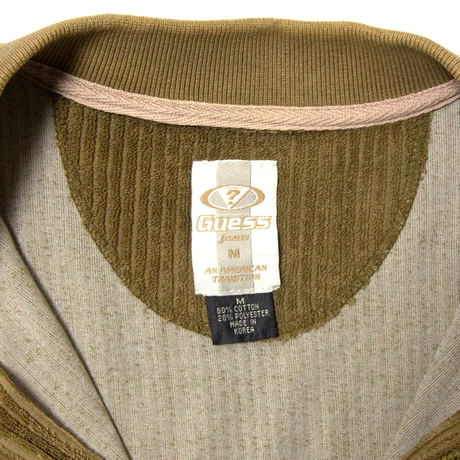 Guess / SS Corduroy Zip Pullover