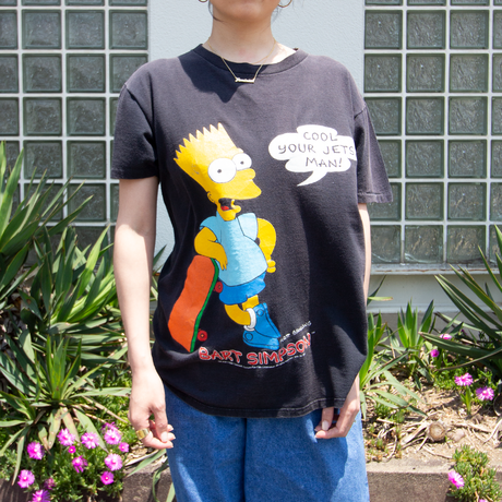 """90's The Simpsons """"Bart Simpson"""" / SS T-shirts"""