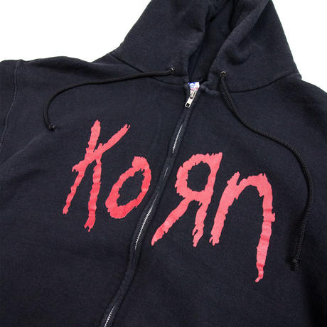 '2004 Korn / Printed Zip-up Parka
