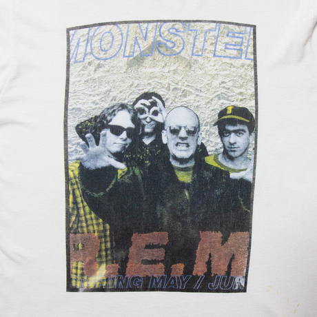 "90's R.E.M. ""Monster"" / SS T-Shirts"