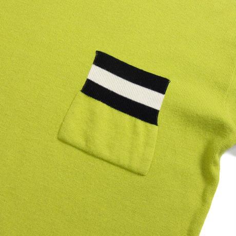 STNT / Acrylic Design Knit Sweater