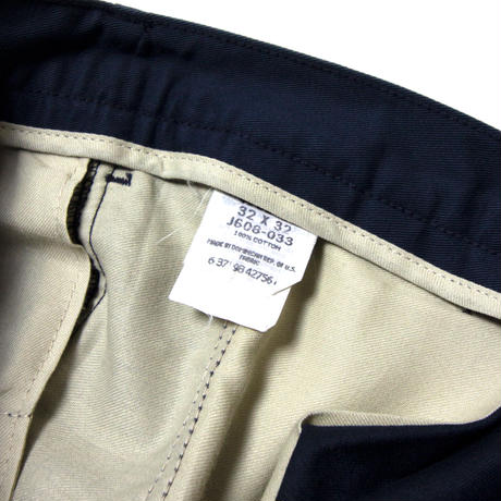 Lee / 2Tuck Cotton Chino Pants
