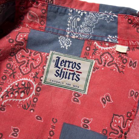Lerros Shirts / Bandana Pattern Shirts