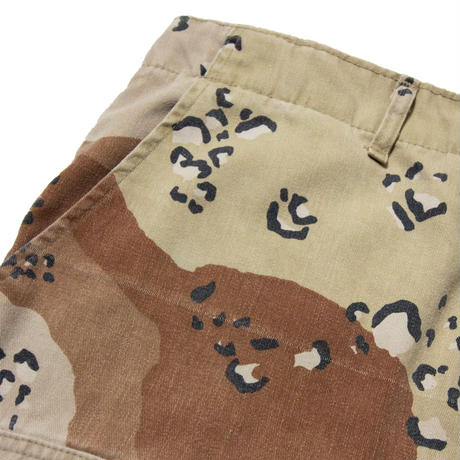 US ARMY / Desert Camouflage BDU Trousers M-R