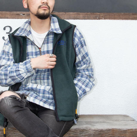 Resist for comfort /  Zip-Up Check Shirts