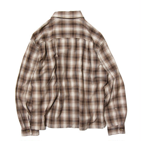 Dockers /  Ombre Check Zip Shirts