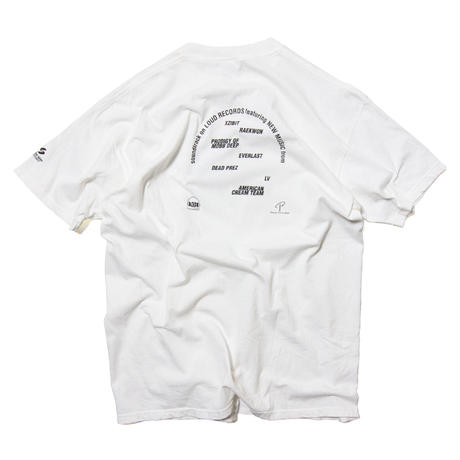 """'2000 Loud Records """"Black and White"""" / SS T-Shirts"""